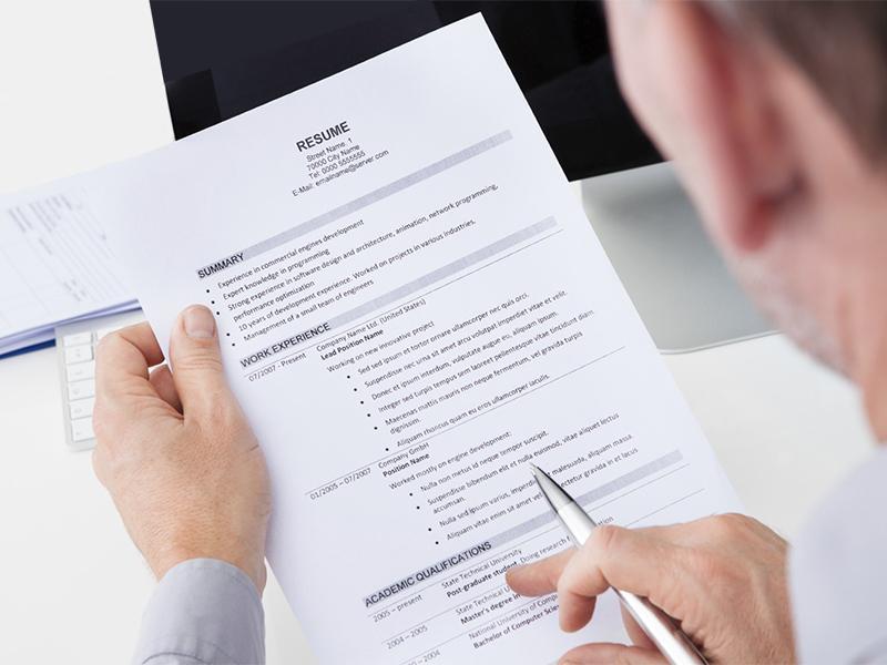 resume service provider